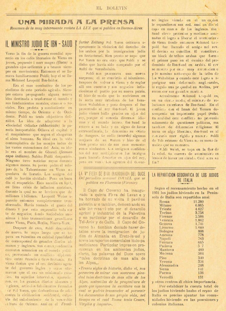 1934, Sept of El Boletin page 4
