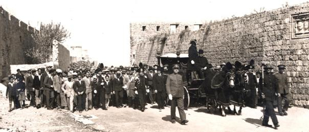 funeral-procession-of-chief-rabbi-reuben-eliahu-israel