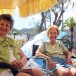 Kaye Israel & aunt Rae